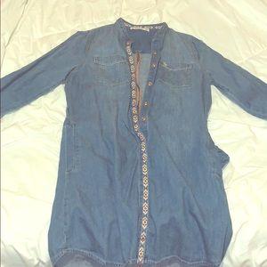Abercrombie kids jean dress
